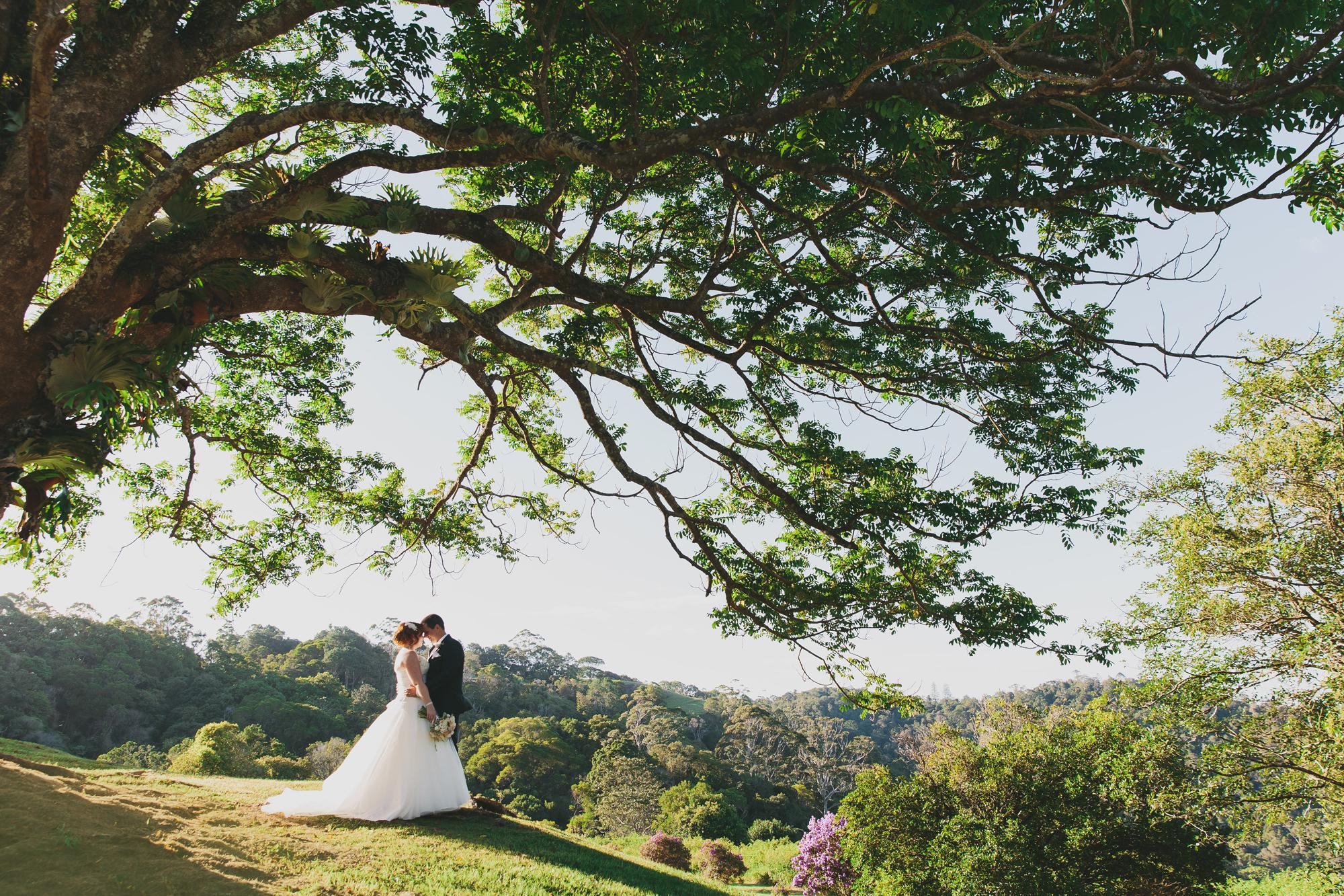 Ange Will Maleny Manor Wedding Photography