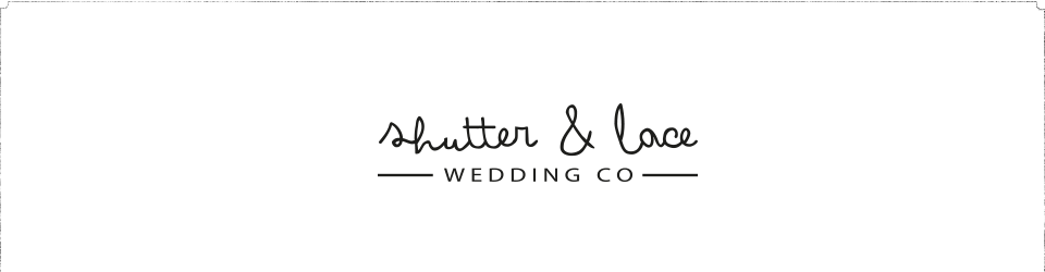 shutter + lace | photography logo